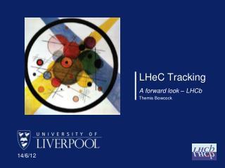 LHeC  Tracking