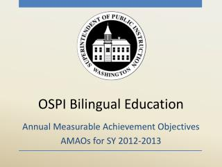 OSPI Bilingual Education