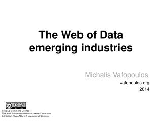 The Web of Data emerging industries
