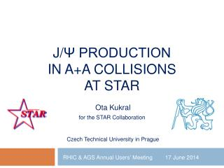 J/ ψ Production  in A+A Collisions At STAR