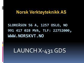 Sloreåsen 56 A , 1257 OSLO, NO 991417 028 MVA, Tlf: 22752000 ,  norskvt.no