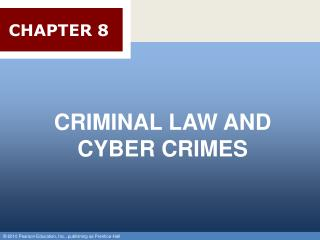 CRIMINAL LAW AND CYBER CRIMES