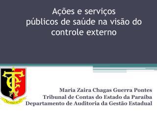 Ações e serviços  públicos de saúde na visão do controle externo