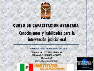 CURSO DE CAPACITACI�N AVANZADA