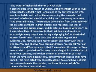 Nehemiah Chapter 3