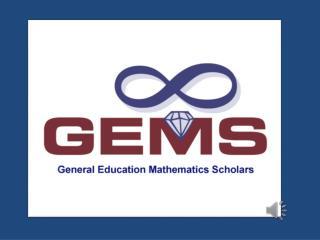 The  GEMS  Program