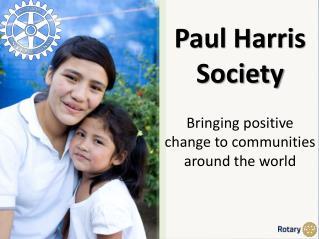 Paul Harris Society