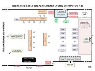 Raphael Hall at St. Raphael Catholic Church  (Precinct 01-43)