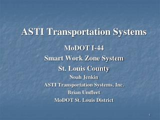 ASTI Transportation Systems