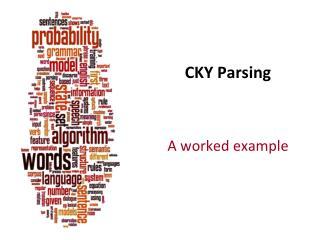 CKY Parsing