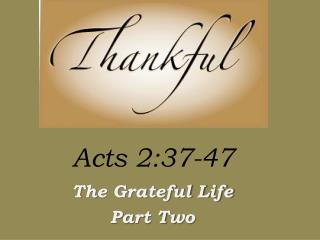 Acts 2:37-47