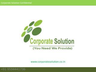 Corporate Solution Confidential