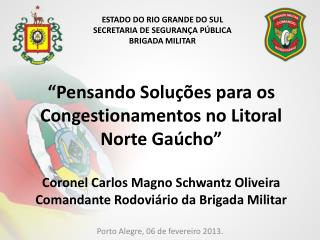Porto Alegre, 06 de fevereiro 2013.