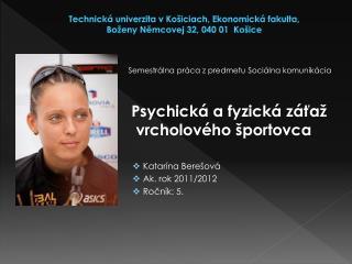 Technická univerzita vKošiciach, Ekonomická fakulta,  Boženy Němcovej 32, 040 01  Košice