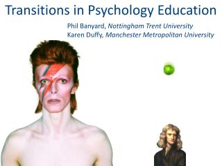 Transitions in Psychology  Education