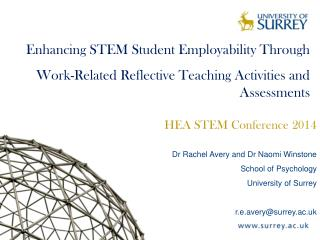 Enhancing STEM Student Employability Through