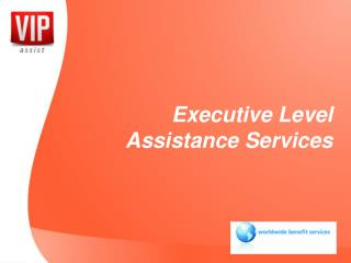 Executive Level Assistance Services