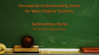 Conceptual Understanding Series  for West Virginia Teachers
