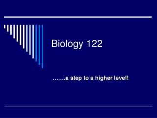 Biology 122