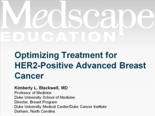 Optimizing Treatment for HER2-Positive Advanced Breast Cancer