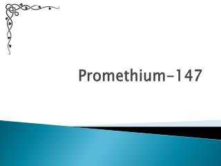 Promethium-147