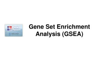 Gene Set Enrichment Analysis (GSEA)