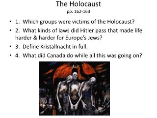 The Holocaust pp. 162-163