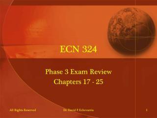 ECN 324
