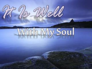 With My Soul