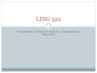 LING 322