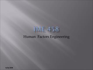 IME 458