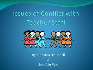 Issues of Conflict with Teacher Staff