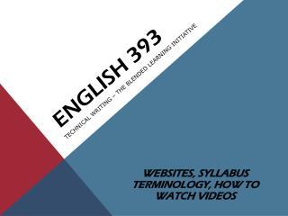 English 393