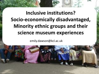 Inclusive institutions?