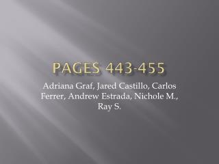 Pages 443-455