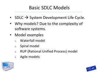 Basic SDLC Models