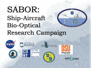 SABOR: Ship-Aircraft  Bio-Optical Research Campaign