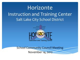 Horizonte Instruction and Training Center Salt Lake City School District