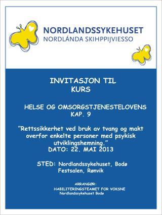 Invitasjon til kurs