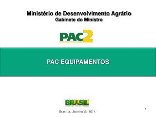 Ministério de Desenvolvimento Agrário Gabinete do Ministro