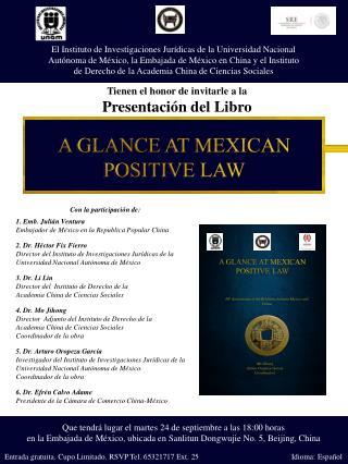El Instituto  de Investigaciones Jurídicas de la  Universidad Nacional