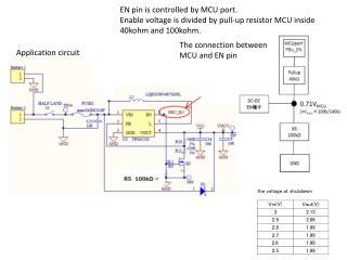 Application circuit