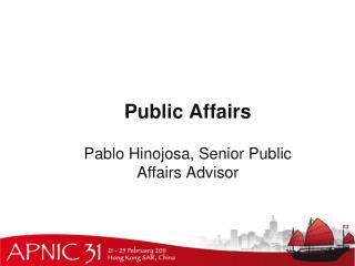 Public Affairs
