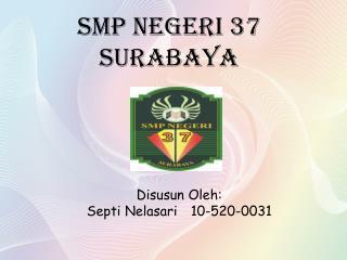 SMP NEGERI 37 SURABAYA