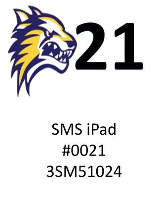 SMS iPad #0021 3SM51024