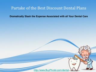 Discount Dental Plans Dramatically Slashing Dental Expenses