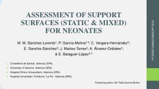 ASSESSMENT OF SUPPORT SURFACES (STATIC & MIXED) FOR NEONATES