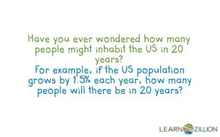 Have you ever wondered how many people might inhabit the US in 20 years?