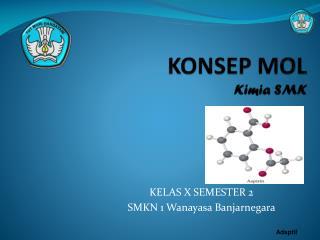 KONSEP MOL Kimia SMK