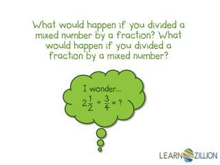 I wonder…  _  = ?